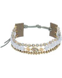 Chan Luu - Leather Gemstone Wrap Bracelet - Lyst