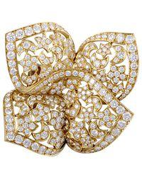 Heritage Van Cleef & Arpels - Van Cleef & Arpels 18k 8.50 Ct. Tw. Diamond Pin - Lyst