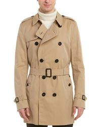 Burberry - Kensington Mid-length Trench Coat - Lyst