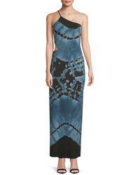 Young Fabulous & Broke - Cut-out Tie Dye Dress - Lyst