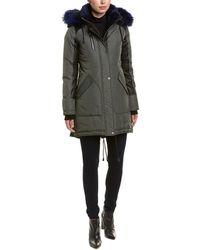 Nicole Benisti - Chelsea Leather-trim Down Coat - Lyst