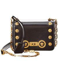 Versace - Medusa Stud Icon Small Leather Crossbody - Lyst · Versace -  Ee1vsbbz6 E899 Black Shoulder Bag ... 5e3750de0d9bc
