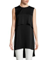 BCBGMAXAZRIA - Oliver Layered High-low Top - Lyst