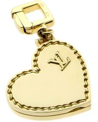 Louis Vuitton - Louis Vuitton 18k Locket Charm - Lyst