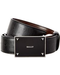 Bally | Cein 35mm Adjustable & Reversible Leather Belt | Lyst