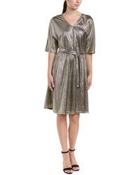 Vero Moda - Metallic A-line Dress - Lyst