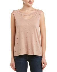 Dance & Marvel - Distressed Top - Lyst
