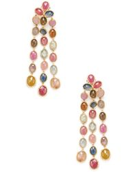 Marco Bicego - Siviglia 18k Yellow Gold Gemstone Drop Earrings - Lyst