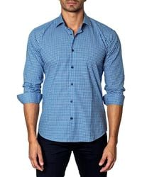 Unsimply Stitched - Woven Sport Shirt - Lyst