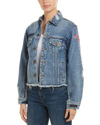 Pam & Gela - Patched Trucker Jacket - Lyst