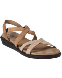 Arche - Nesty Suede Sandal - Lyst