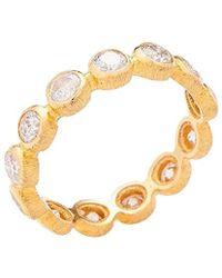 Adornia - Fine Jewelry 18k Yellow Gold 2.00 Ct. Tw. Diamond Eternity Ring - Lyst