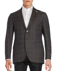Lubiam - Wool Sport Coat - Lyst