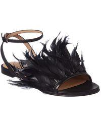 Pour La Victoire - Layla Leather Sandal - Lyst