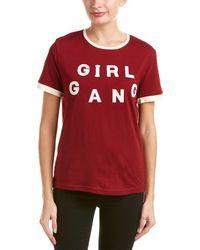 ELEVEN PARIS | Girl Gang T-shirt | Lyst