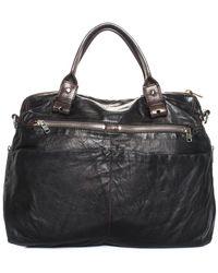 Chloé - Black Leather Shoulder Bag - Lyst
