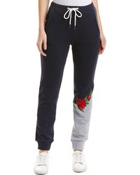 Lea & Viola - Embroidered Jogger - Lyst