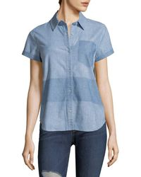 J Brand - Wylie Denim Shirt - Lyst