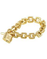 Louis Vuitton - Louis Vuitton 18k Bracelet - Lyst