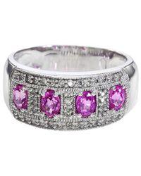 Effy - Fine Jewelry 14k 1.20 Ct. Tw. Diamond & Gemstone Ring - Lyst