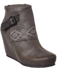 Otbt - Women's Robertson Leather Bootie - Lyst