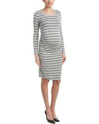 Everly Grey - Maternity Hanh Sheath Dress - Lyst
