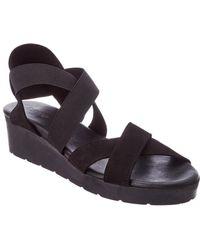 Arche - Malyak Nubuck Leather Wedge Sandal - Lyst