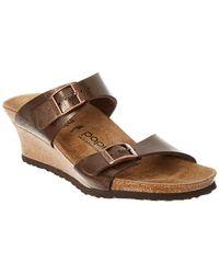 Birkenstock - Papillio Dorothy Graceful Leather Sandal - Lyst