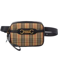 Burberry - The 1983 Check Link Belt Bag - Lyst