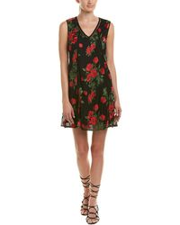 Romeo and Juliet Couture - Embroidered Mesh Shift Dress - Lyst