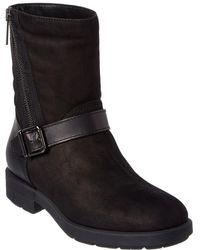 Aquatalia - Laura Waterproof Nubuck Leather Boot - Lyst
