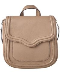 Rebecca Minkoff - Maia Convertible Leather Backpack - Lyst