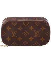 Louis Vuitton - Monogram Canvas Trousse Blush Pm - Lyst
