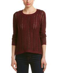 Olive & Oak - Open-knit Sweater - Lyst