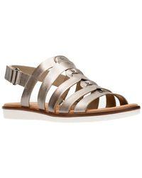 Clarks - Kele Jasmine Leather Sandal - Lyst