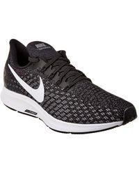 Nike Air Zoom Pegasus 35 Knit Sneaker - Black