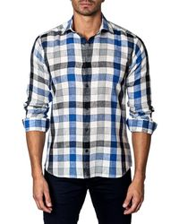Unsimply Stitched - Check Plaid Sport Shirt - Lyst