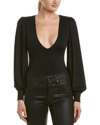 Susana Monaco - V-neck Bodysuit - Lyst