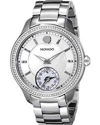 Movado - Women's Bellina Diamond Watch - Lyst