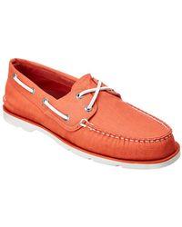 Sperry Top-Sider - Leeward X Lace Boat Shoe - Lyst
