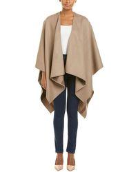 Burberry - Nova Check Reversible Merino Wool Poncho - Lyst