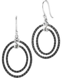 Alor - Delatori By Silver Black Spinel Drop Earrings - Lyst