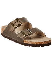 Birkenstock - Arizona Washed Narrow Leather Sandal - Lyst