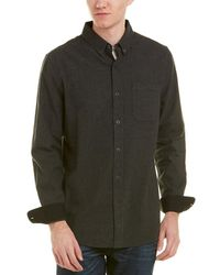 AG Jeans - Caleb Woven Wool-blend Shirt - Lyst