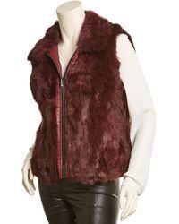 Adrienne Landau Reversible Vest