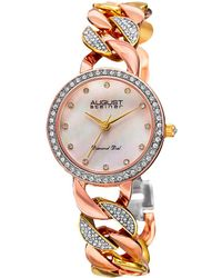 August Steiner - Women's Alloy Diamond Watch - Lyst
