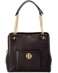 5793952a6e75 Tory Burch - Chelsea Small Slouchy Leather Tote - Lyst