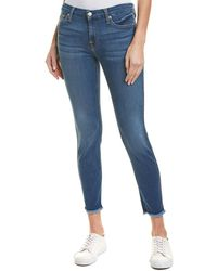 7 For All Mankind - 7 For All Mankind Gwenevere Royal Ankle Cut - Lyst