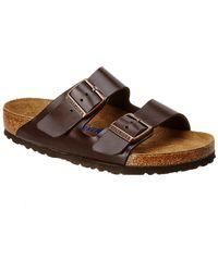 Birkenstock - Arizona Birko-flor Soft Footbed Sandal - Lyst