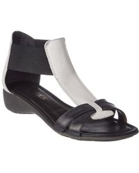 The Flexx - The Band Together Leather Wedge Sandal - Lyst